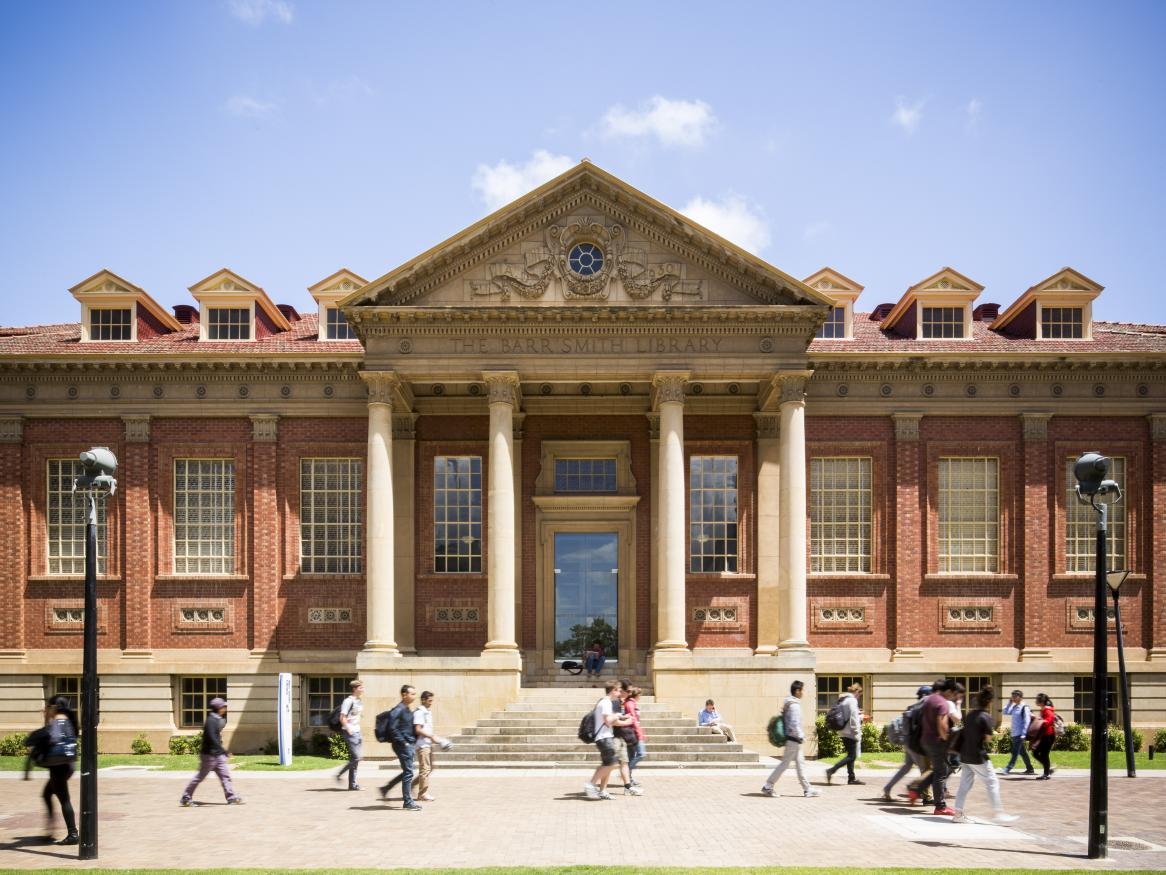 The Barr Smith Library image