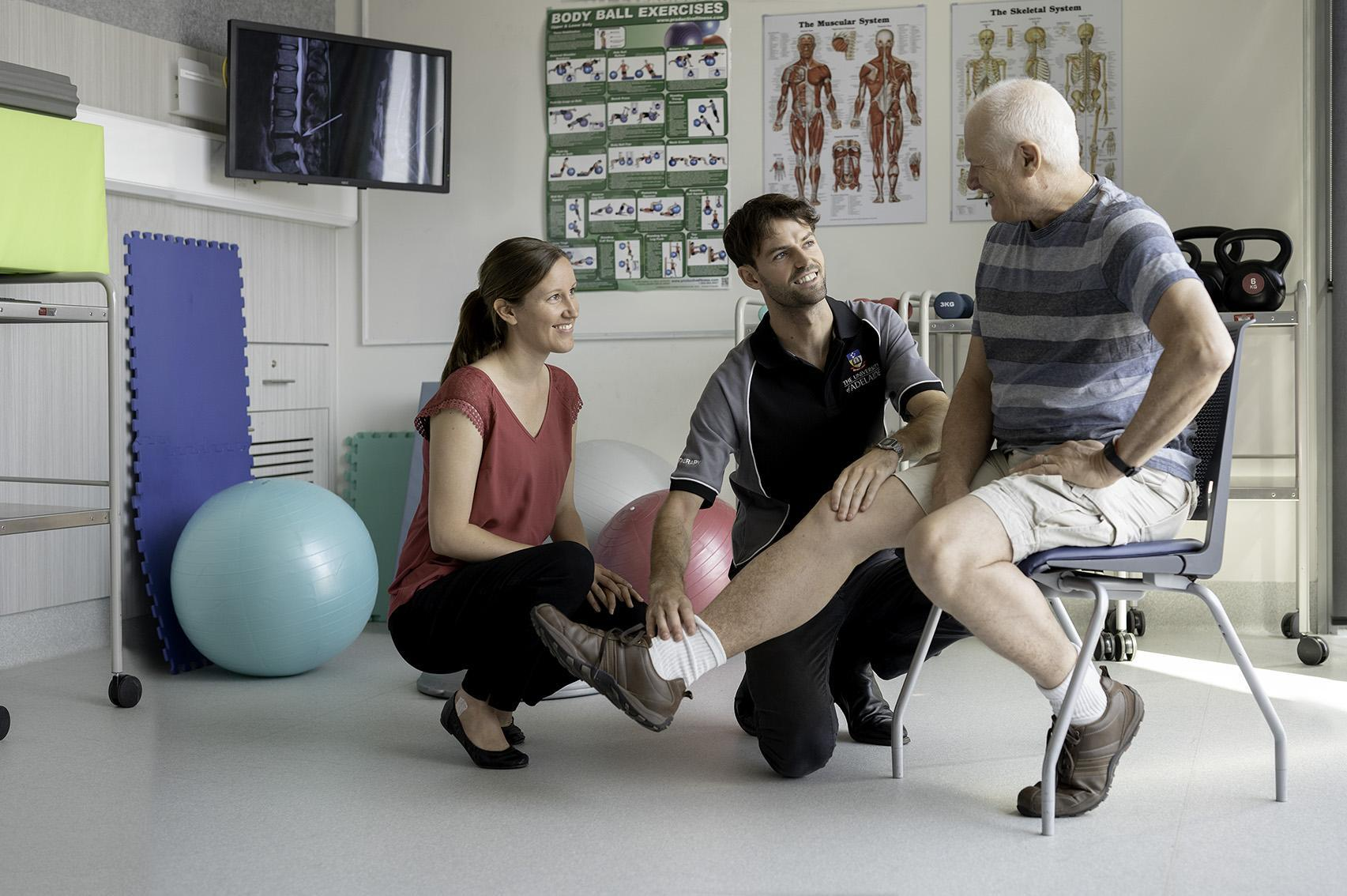 Allied Health physiotherapy