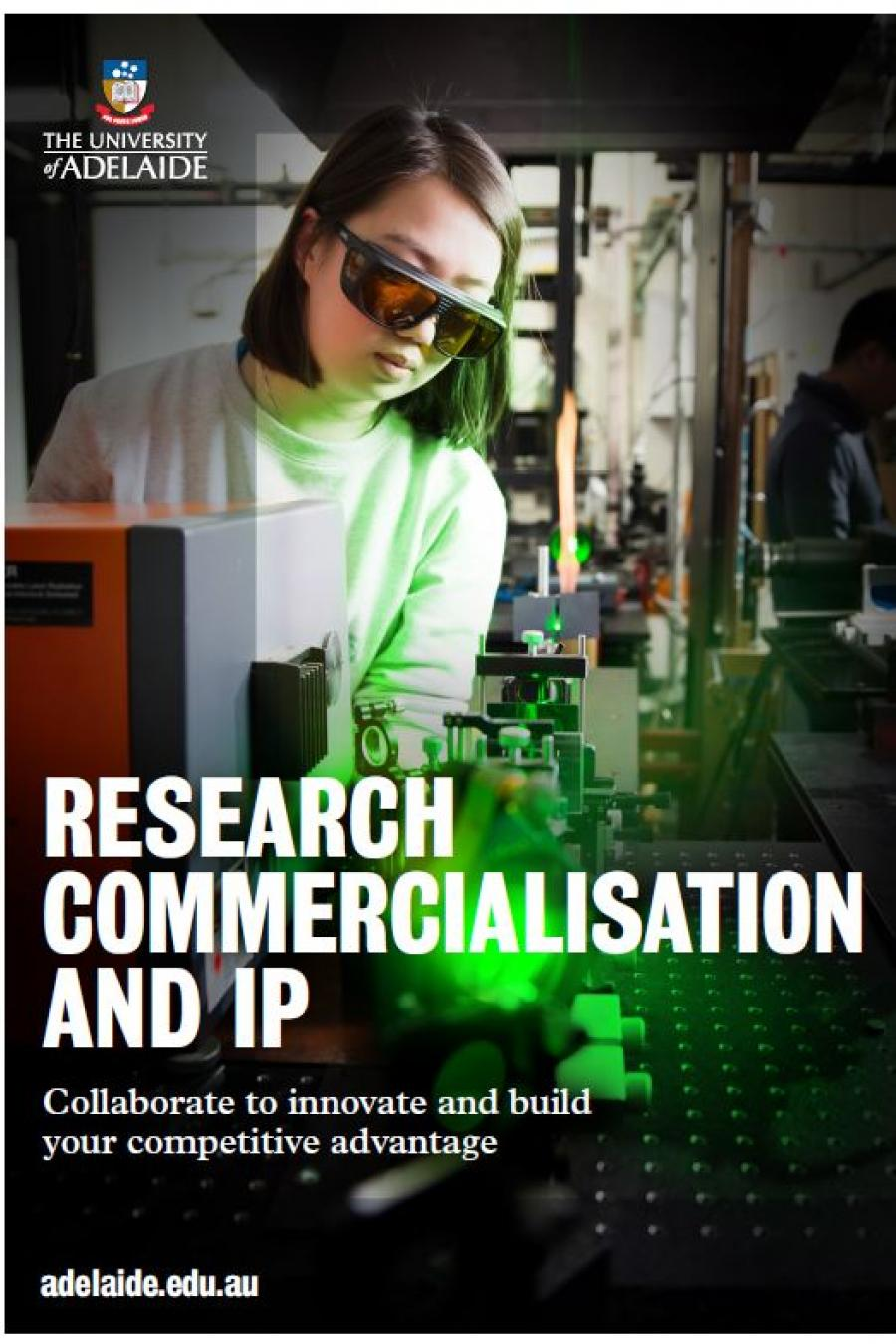 Research commercialisation brochure cover
