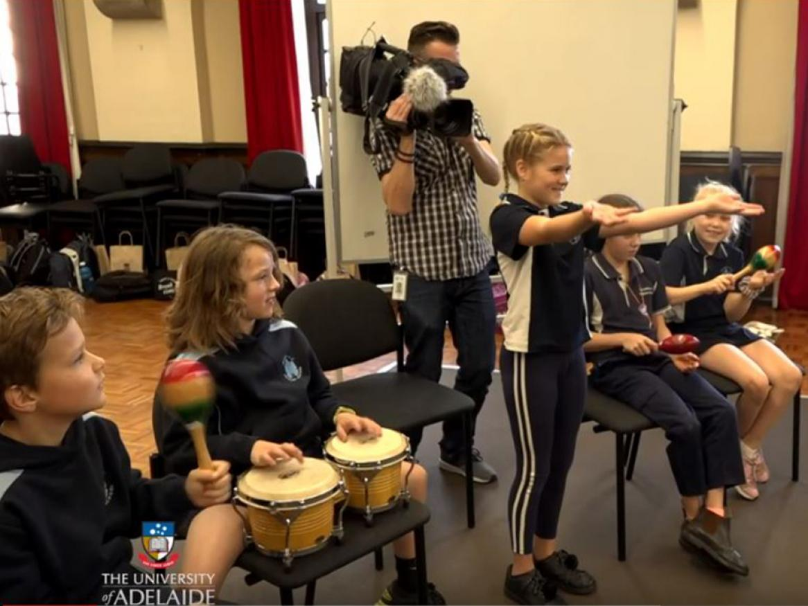 kids at the elder conservatorium