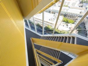 AHMS trangular stairwell