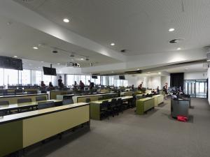 AHMS split lecture theatre