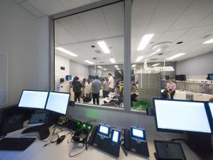 AHMS building computer room