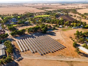 Roseworthy Solar Farm Drone