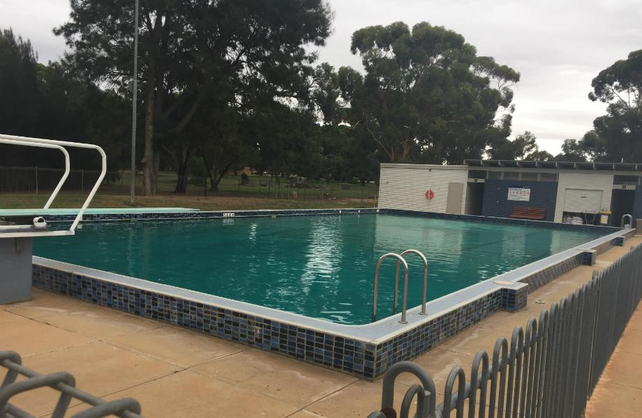 Photo of the Roseworthy Swimming Pool