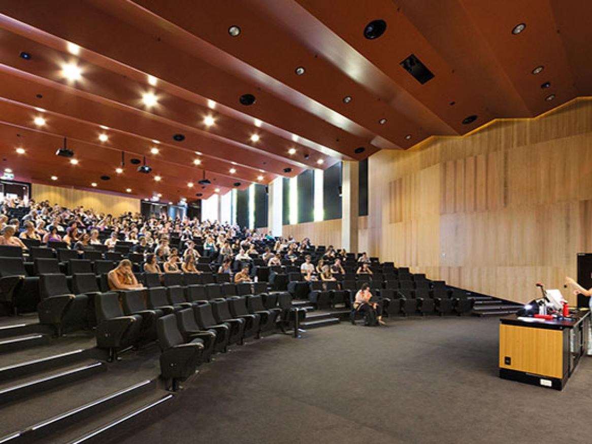 The Braggs lecture theatre