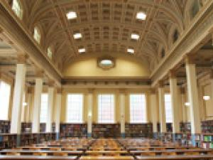 Interior of Reading Room