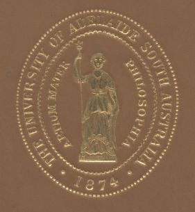 University of Adelaide Book Cover Stamp