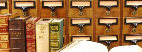 Books and Card Catalogue