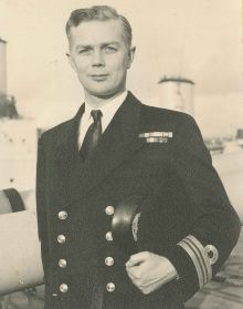 Lieutenant Commander Peter Osborn, undated.