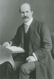 William Henry Bragg, London, 1909