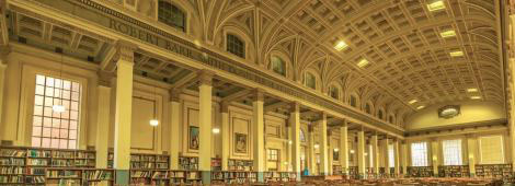 Library Reading Room Frieze
