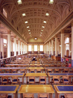 The Library reading room