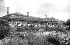 Soldiers' Home Garden at Myrtle Bank, ca 1917