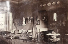 Torrens Park yellow drawing room, ca 1882
