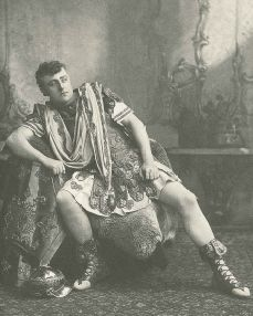"George Osmond Tearle as ""Coriolanus"", taken from The Plays of William Shakespeare by Thomas Keightley, 1892-1894"