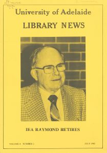 University of Adelaide Library News, Vol. 4, No. 2, July 1982
