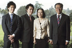 Hieu Van Le pictured with his sons Kim Anh Le and Don Anh Le, and wife Lan T. P. Le. PHOTO BEN SEARLE