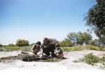 A 1958 photo of Reg with his two children Margaret and Douglas in the outback. PHOTOS COURTESY EAST STREET PUBLICATIONS