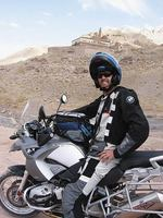 After the 2006 Commonwealth Games, Drew embarked on a motorbike trek from London through Europe, to Nepal and eventually to Melbourne - covering 35,000 kms in seven months