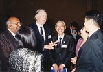 From left to right, Datuk Dr Sam Abraham, Dr Harry Medlin, Giam Choo Huat, Dr Siew Muay Yung, Dr Richard Hin Yung.  Alumni Dinner, Singapore 1994