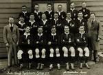 The Intervarsity team of 1933. PHOTO COURTESY OF RICHARD WELLS