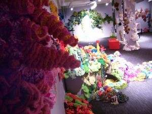 RiAus Hyperbolic Crochet Coral Reef 2012 (contributed a part of this)