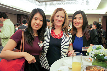 Alumni in Beijing for a University of Adelaide cocktail reception
