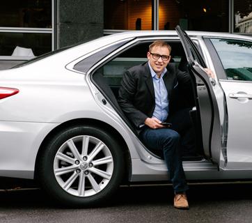 David Rohrsheim, General Manager of Uber Aus/ NZ