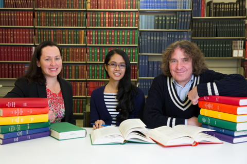 Sarah Moulds, Natalie Williams and Dr David Planter