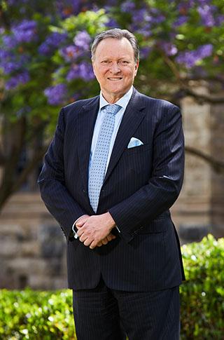 Former Vice-Chancellor Warren Beddington