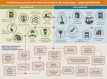 Food Innovation at the University of Adelaide