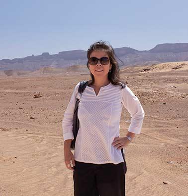 In the desert near the border of Libya and Algeria
