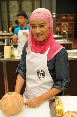 Ezani on the set of MasterChef Malaysia