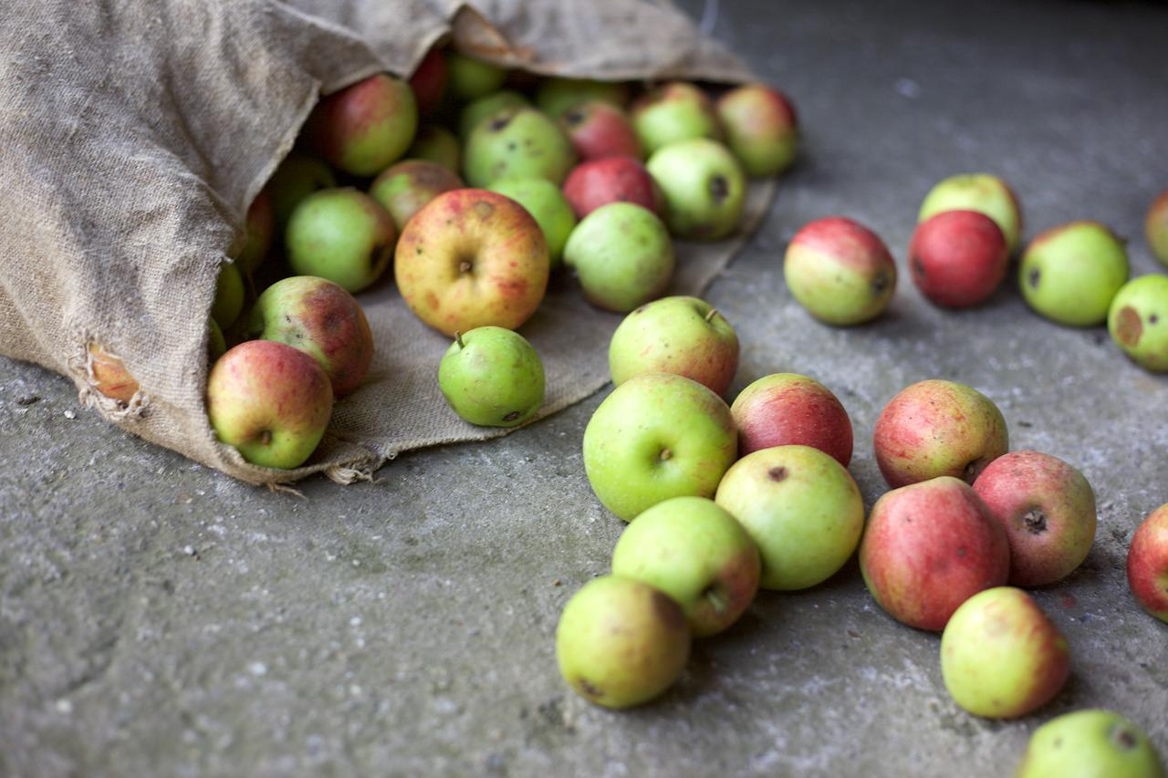 Waste apples