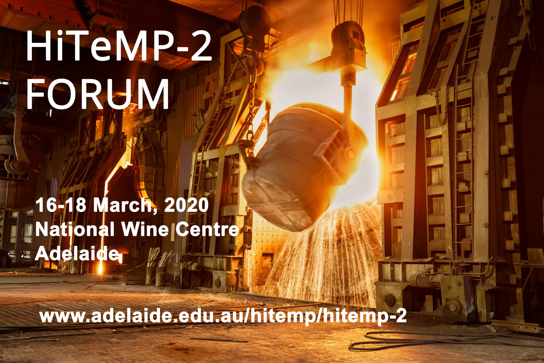 HiTeMP-2 Forum: Zero Carbon High Temperature Minerals Processing