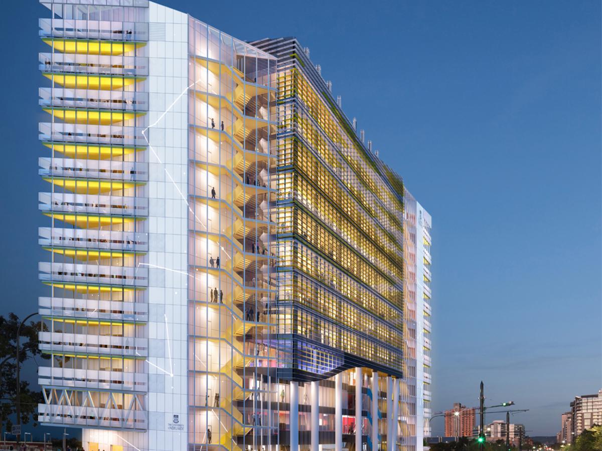 AHMS building