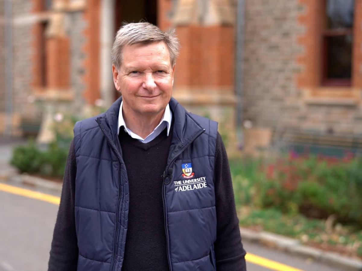 SA Drought Hub Interim Director Professor Chris Preston