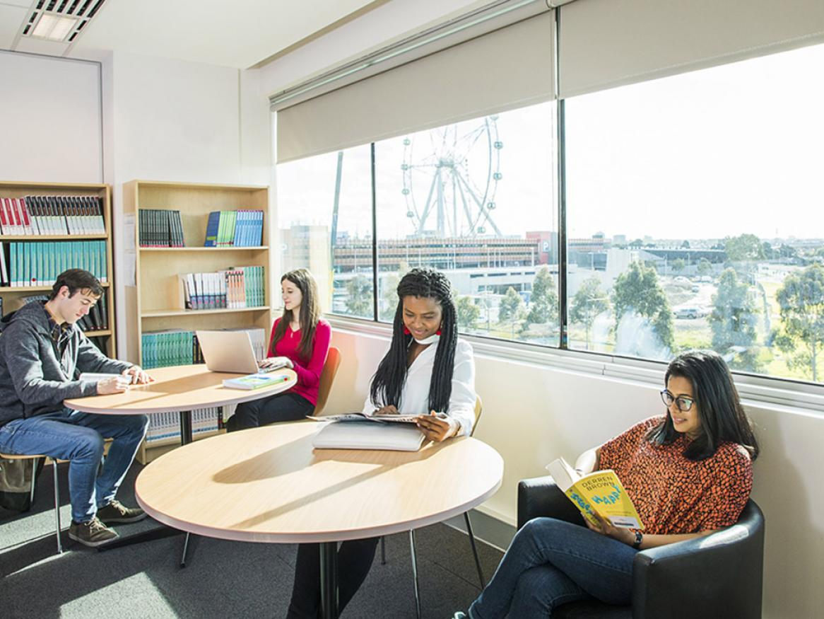 Kaplan students in Melbourne