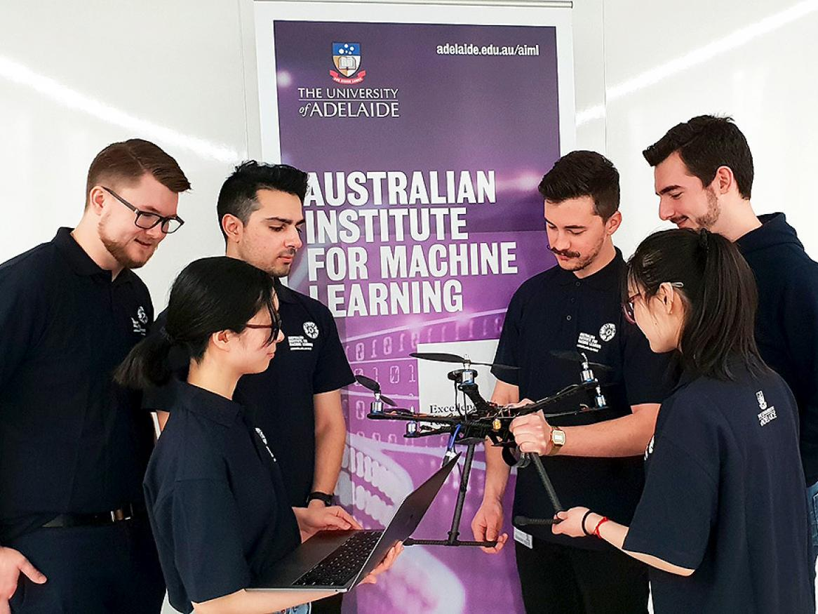 Students from the Australian Institute for Machine Learning