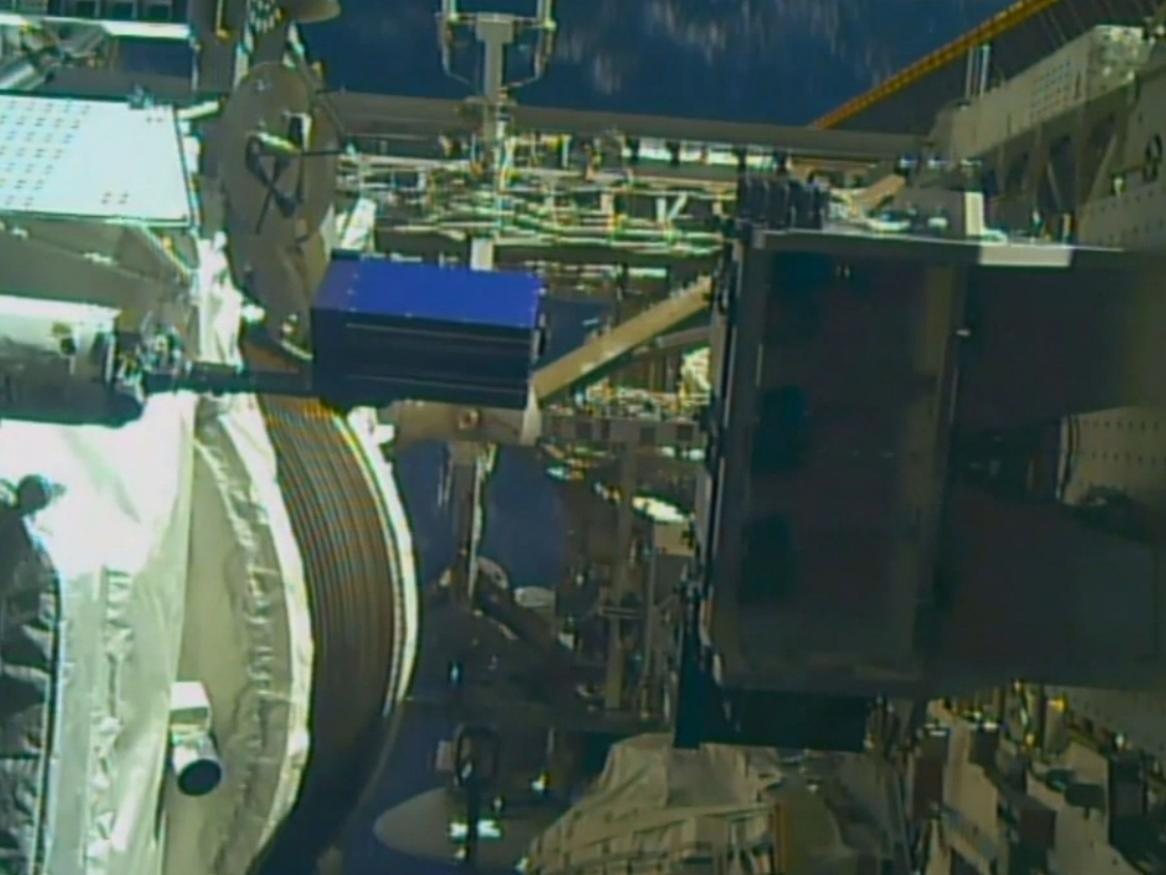 MISSE Platform  on International Space Station