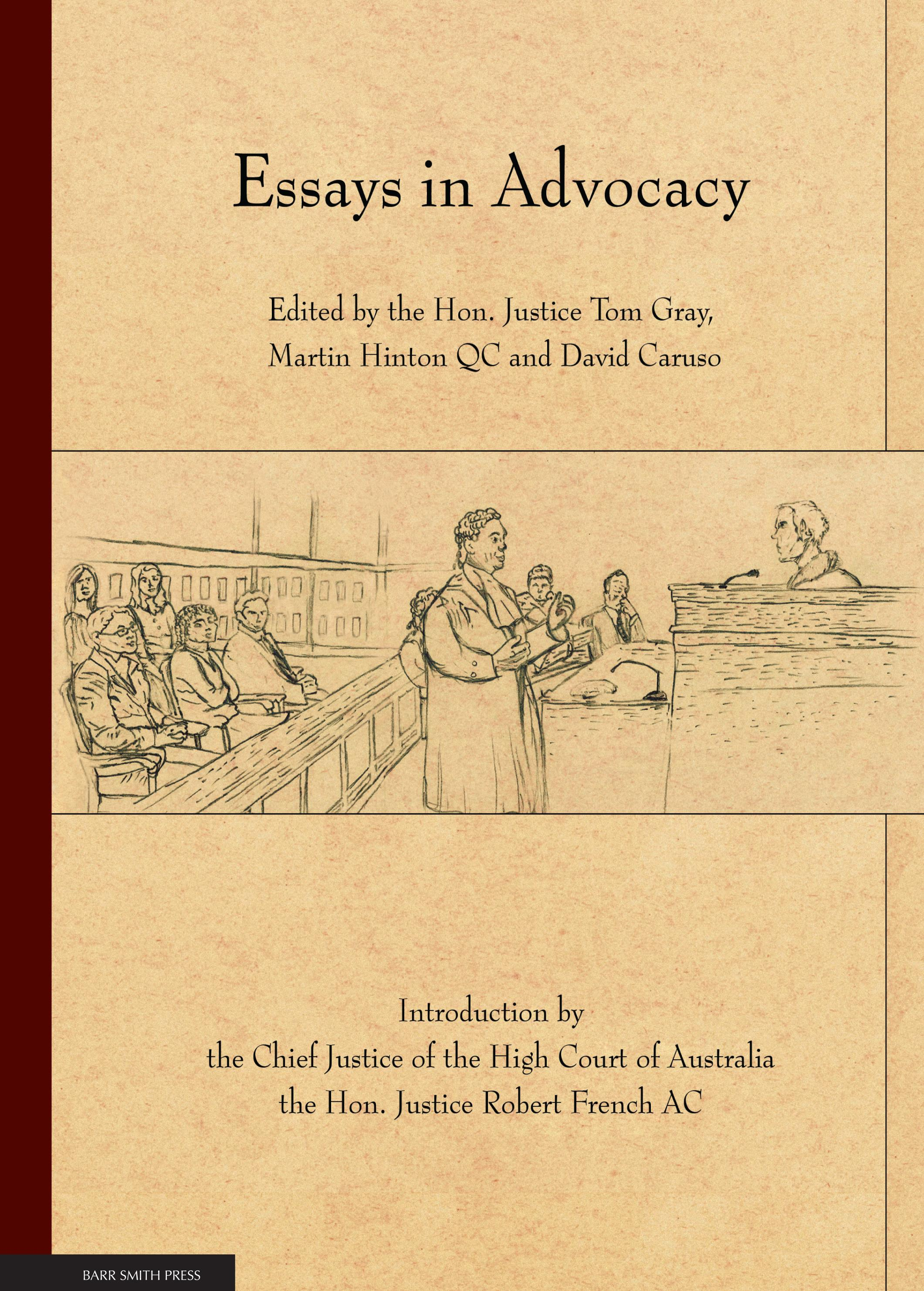 Essays in Advocacy cover
