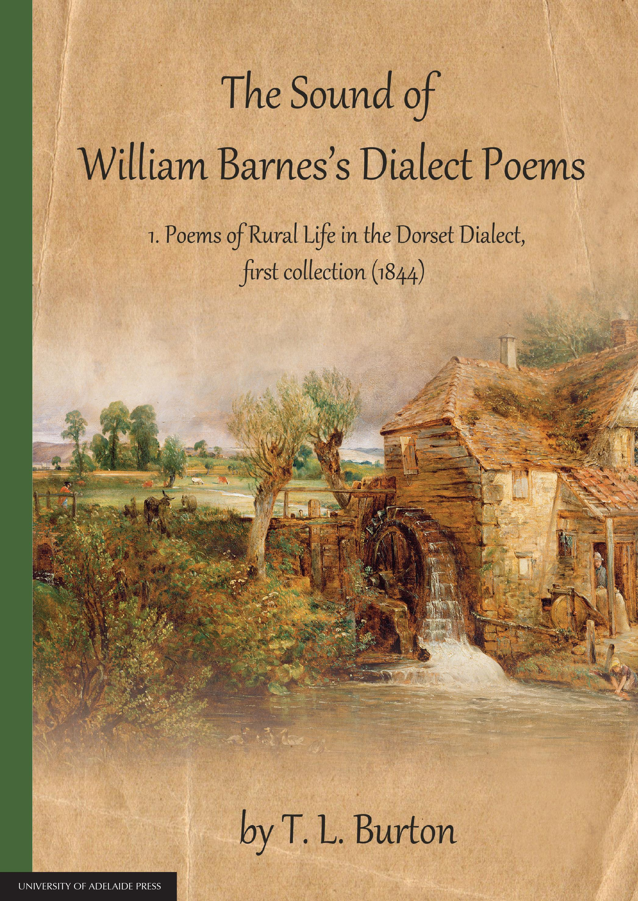 The Sound of William Barnes's Dialect Poems 1