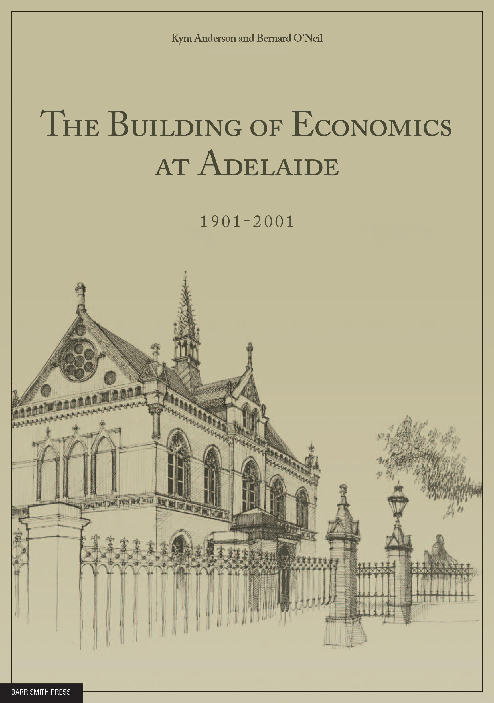 The Building of Economics at Adelaide cover