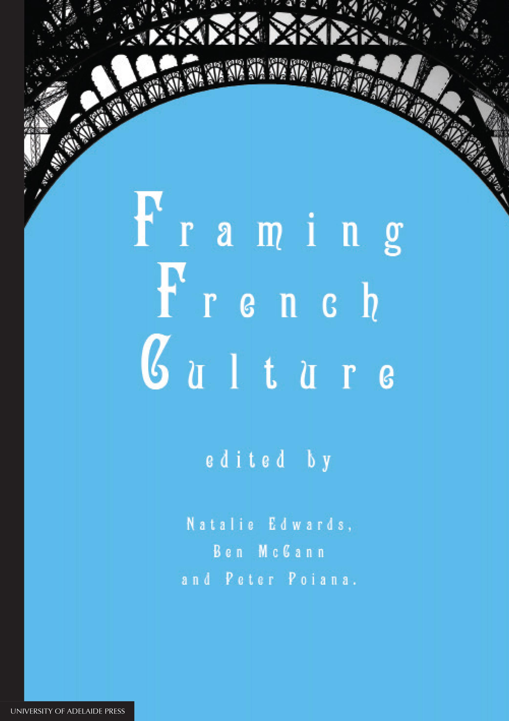 Framing French culture cover