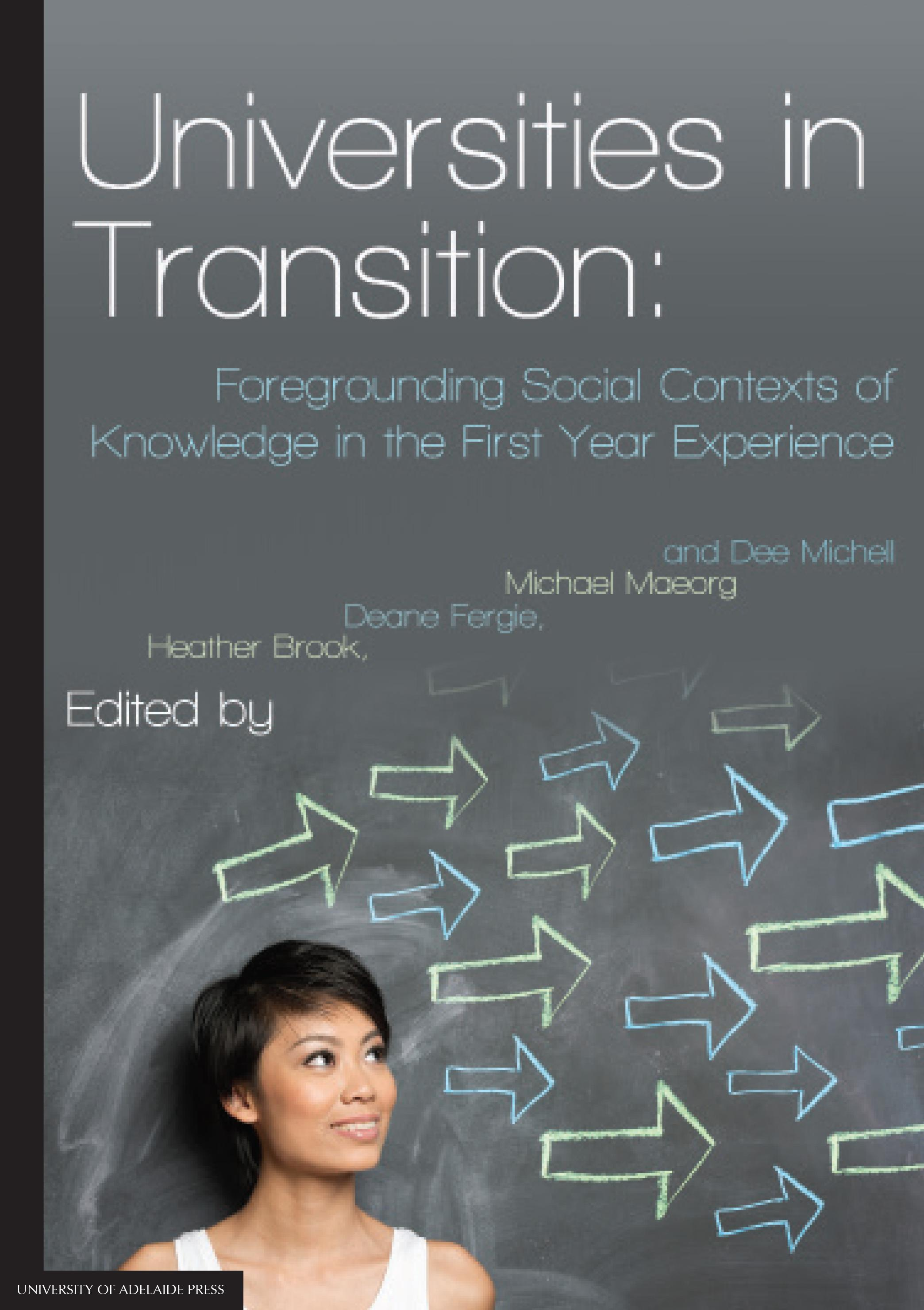 Universities in transition cover