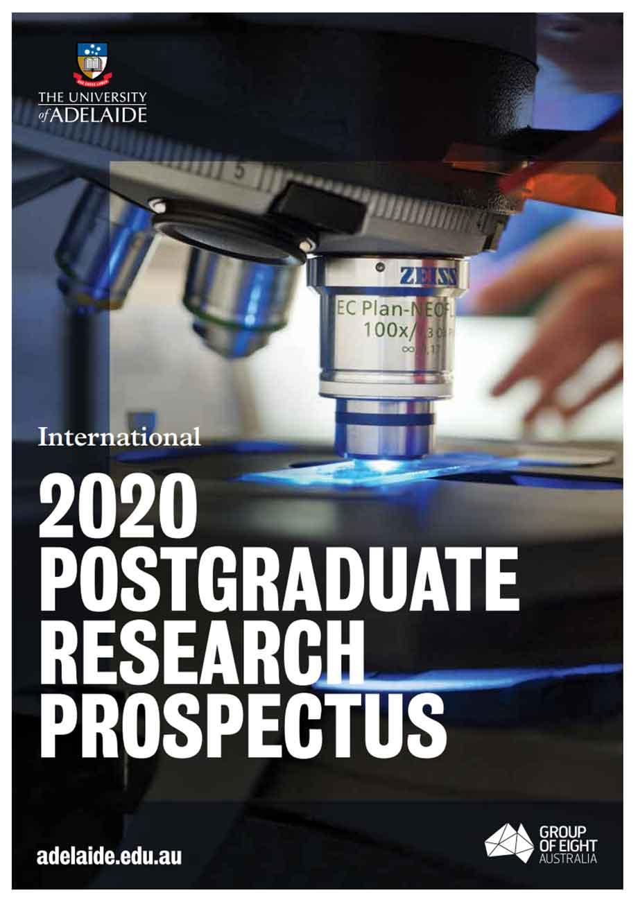 International Postgraduate Research Prospectus