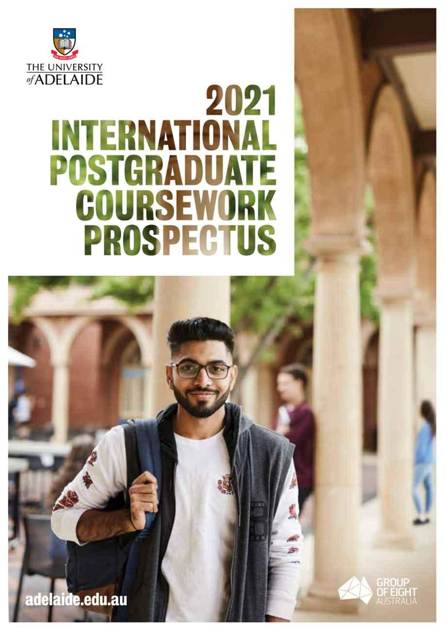 International Postgraduate Coursework Prospectus 2021