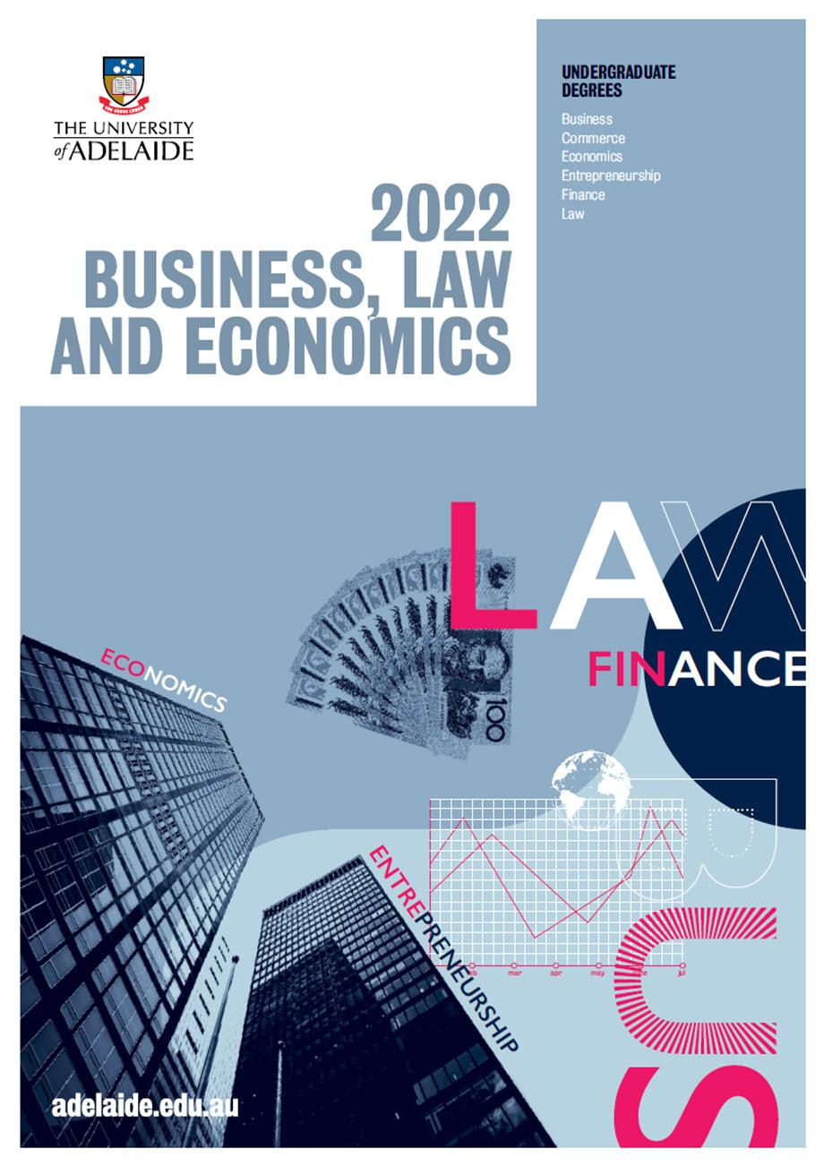 2022 Business, Law and Economics Program Guide
