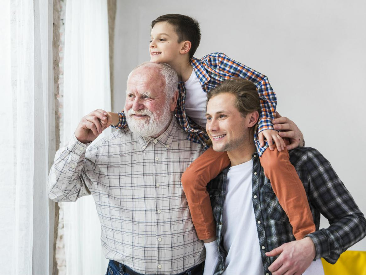 Multi-generational men